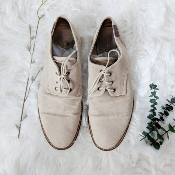 f864a0e4bcc4c2 Lacoste Other - LACOSTE Sherbrooke canvas lace up oxford tan